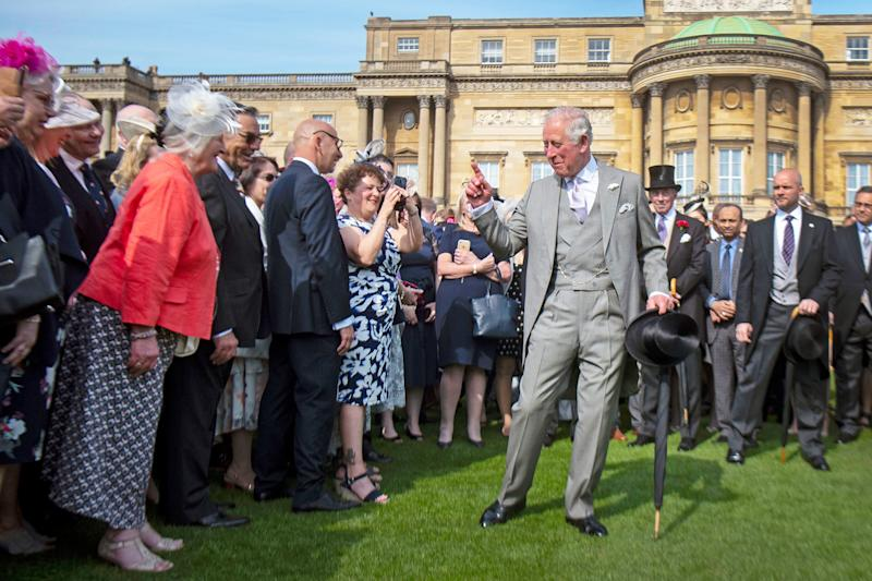Prince Charles Hosting Palace Garden Party Instead of Queen