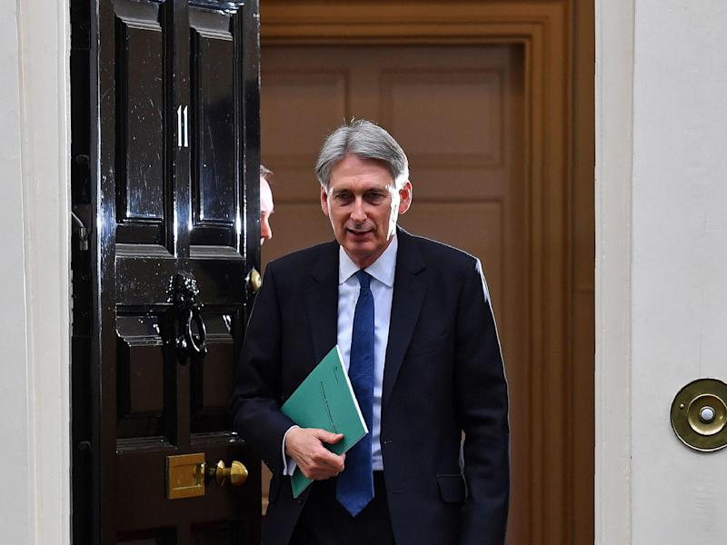 Philip Hammond is due to give his first Budget on 8 March: Getty
