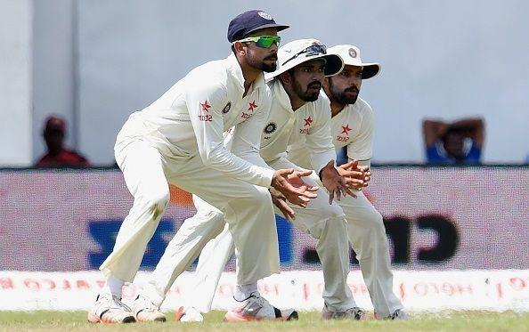 Indian fielding has been a matter of concern off late. ​Indian fielding has been a matter of concern off lateShikhar Dhawan dropped Keshav Maharaj in the first innings of the opening Test match when he had just come out to bat. Maharaj went on to score 35 runs which were invaluable in the context of the match. As it turned out, India lost the match by just 72 runs.In close fought encounters, holding on to half chances can be the deciding factor between victory and defeat. Despite a couple of run-outs being effected by Indian fielders, they were by and large sloppy when it comes to catching. Let us have a look at 5 dropped catches by India that had the potential of changing the landscape of the match.Dean Elgar was under 20 when he mistimed a bouncer from Jasprit Bumrah. Vijay who was at fine leg could not judge the ball that was coming straight to him. He started running towards the ball. The balls flew over his head and hit the boundary cushion after bouncing once.As a result, South Africa did not lose any wicket in the first session and went to Lunch with 78-0. If India had drawn first blood before Lunch, they would have come out with a spring in their step in the second session.​