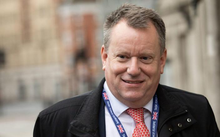 Lord Frost is in Brussels for talks over Northern Ireland. - PA