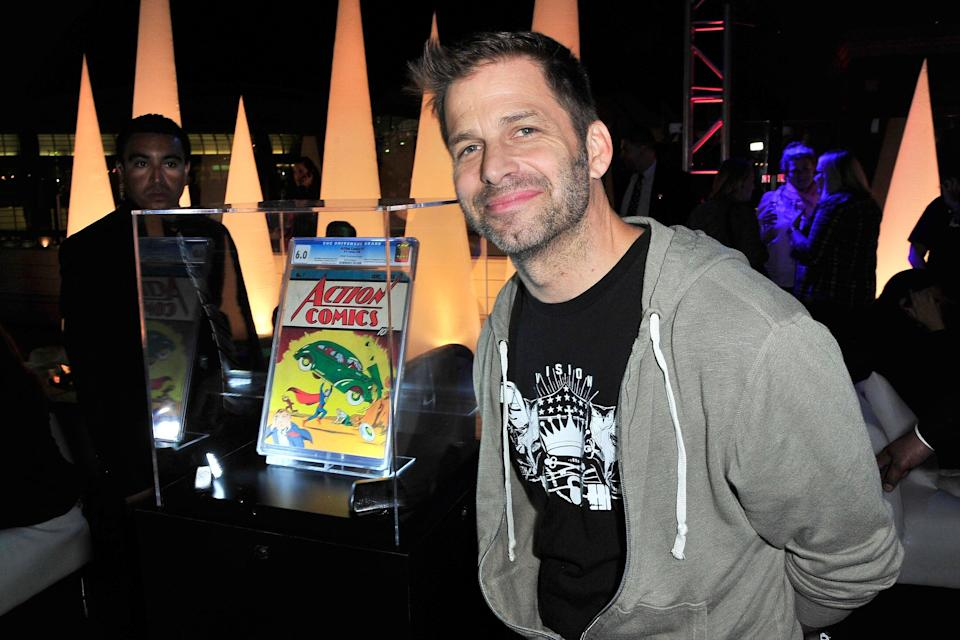 <p>File image: Zack Snyder at the Superman 75 party at San Diego Comic-Con 2013</p> (Getty Images)