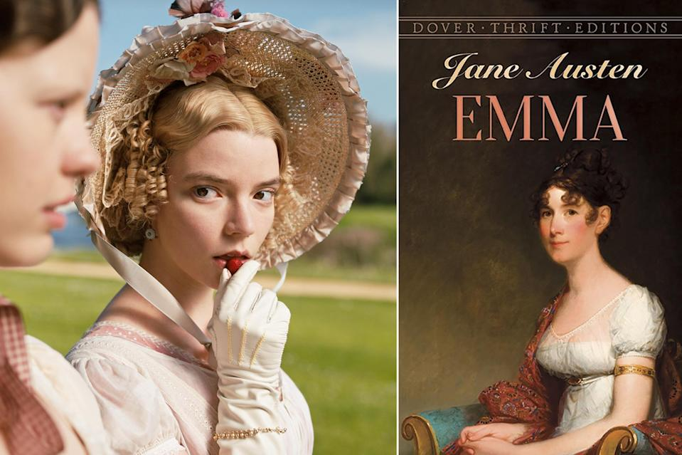 """<p>For all the thousands (we exaggerate) adaptations of <a href=""""https://ew.com/tag/jane-austen/"""" rel=""""nofollow noopener"""" target=""""_blank"""" data-ylk=""""slk:Jane Austen"""" class=""""link rapid-noclick-resp"""">Jane Austen</a>'s novel out there, we should be truly fed up with seeing <a href=""""https://ew.com/creative-work/emma-2020-film/"""" rel=""""nofollow noopener"""" target=""""_blank"""" data-ylk=""""slk:Emma"""" class=""""link rapid-noclick-resp""""><em>Emma</em></a> on our screens, and yet 2020's entry starring <a href=""""https://ew.com/tag/anya-taylor-joy/"""" rel=""""nofollow noopener"""" target=""""_blank"""" data-ylk=""""slk:Anya Taylor-Joy"""" class=""""link rapid-noclick-resp"""">Anya Taylor-Joy</a> and directed by <a href=""""https://ew.com/tag/autumn-de-wilde/"""" rel=""""nofollow noopener"""" target=""""_blank"""" data-ylk=""""slk:Autumn de Wilde"""" class=""""link rapid-noclick-resp"""">Autumn de Wilde</a> is as delightful as it is familiar. There's a modern feel to de Wilde's adaptation which makes Austen's original sharp social satire a tad less pronounced, but the story becomes all the funnier and more frivolous for it. And yes, overall, it's all still as charmingly chaotic as the source material intended. Taylor-Joy's interpretation of Emma is what really sets the movie apart, as she somehow makes the titular character even more unapologetically unlikable at times. Emma herself couldn't have made a better match.</p>"""