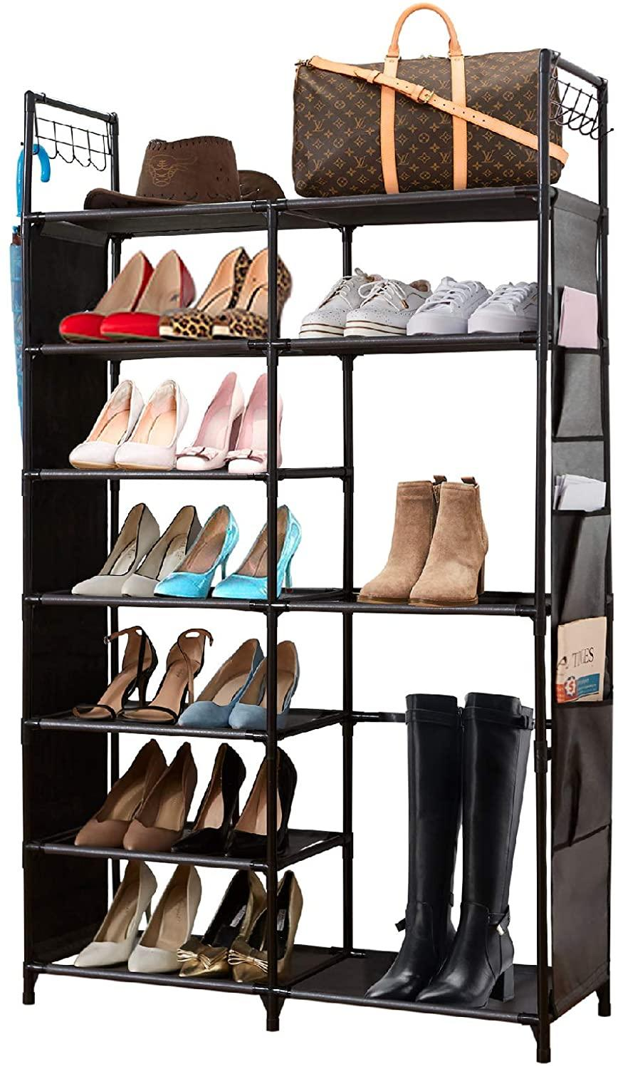 Houyomics Shoe Rack. Image via Amazon.