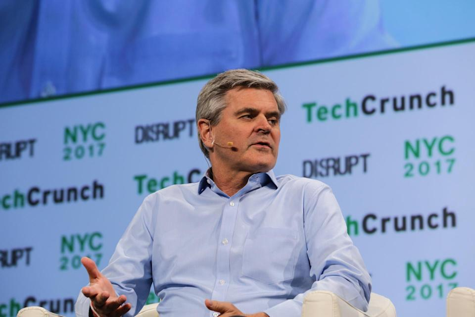 Steve Case (Revolution LLC) at TechCrunch Disrupt NY 2017