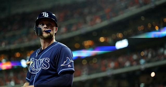 Who was the Rays best hitter in 2019?