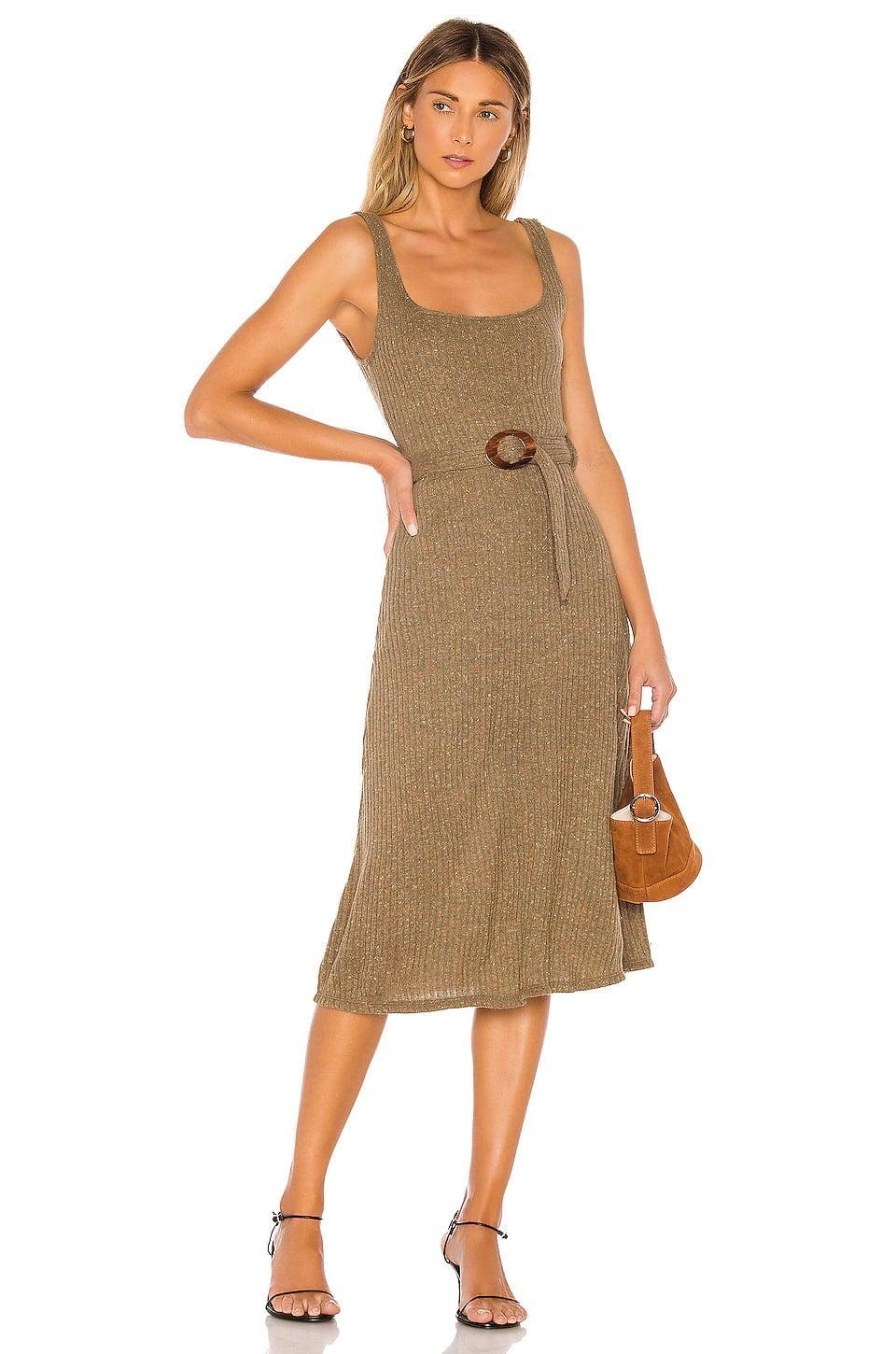 <p>Get all wrapped up in this pretty <span>Majorelle Luis Midi Dress</span> ($160).</p>