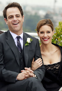 Paul Adelstein and KaDee Strickland  | Photo Credits: Ron Tom/ABC