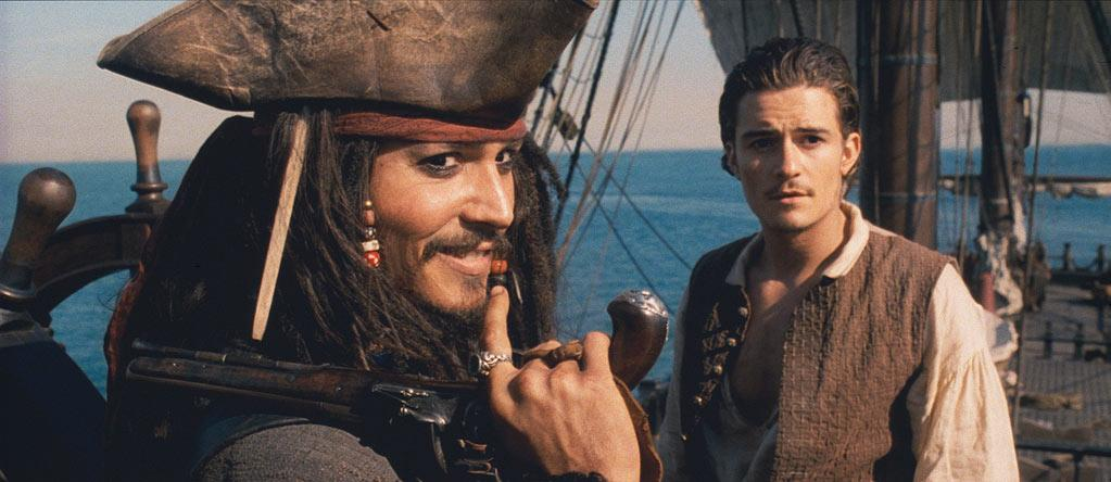 "<a href=""http://movies.yahoo.com/movie/1808405417/info"">Pirates of the Caribbean:The Curse of the Black Pearl</a> (2003): The first time he played the role of Capt. Jack Sparrow, it was a startling thing to behold. He seemed kinda drunk and vaguely effeminate, out of control yet always on top of his game. Depp was clearly channeling Keith Richards (who would show up in later installments in a cameo as Jack's dad), and yet he had created an indelible figure that was entirely his own. It was unpredictable, and that was thrilling. The first ""Pirates"" movie earned Depp the first of his three best-actor nominations. Now the novelty has long since worn off, but Jack can still be a kick."