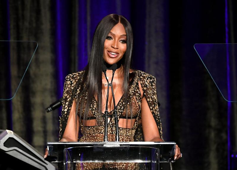 Naomi Campbell is speaking out against a Daily Mail article she calls a