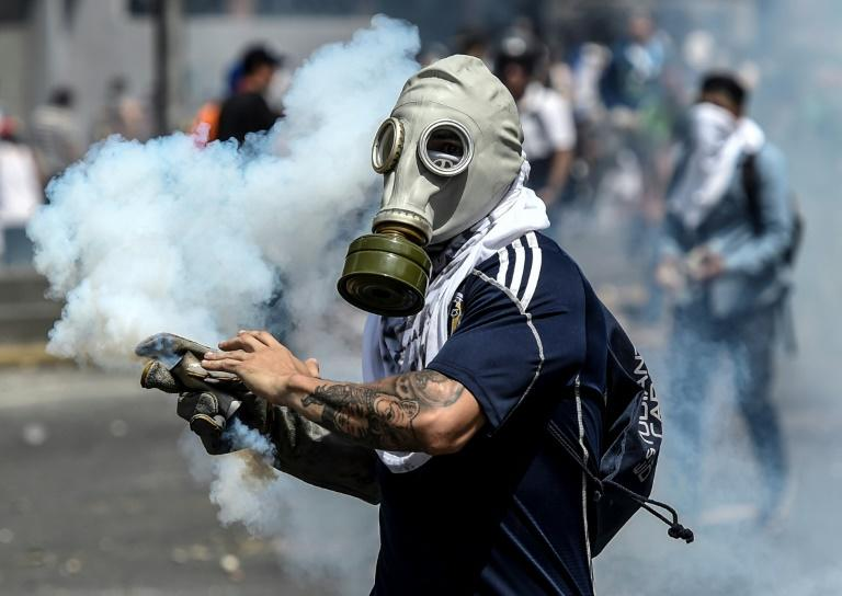 Street protests are among the few options left for the Venezuelan opposition to pressure the government of President Nicolas Maduro