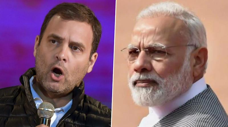 Rahul Gandhi Takes a Dig at PM Narendra Modi Over Madhya Pradesh Political Crisis, Says 'You May Have Missed Noticing 35% Crash in Global Oil Prices'