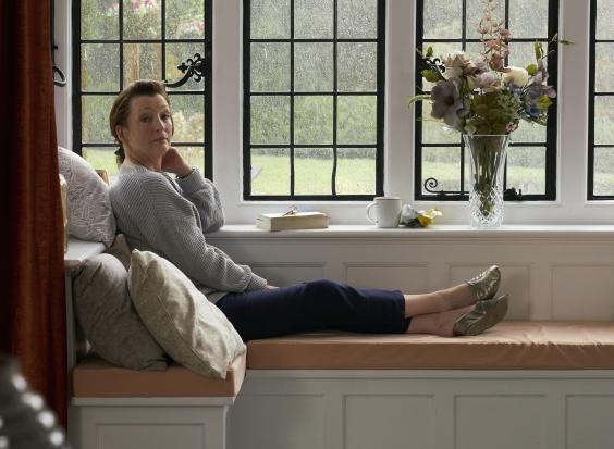 Lesley Manville as Cathy in 'Mum', a series the actor describes as 'a comedy about grief' (BBC)