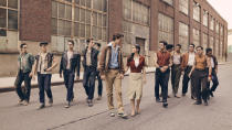 Steven Spielberg wants to get toes tapping and, in order to do so, he's reaching for a classic Broadway musical, which was previously adapted into a 1961 film. It's a <em>Romeo and Juliet</em>-inspired tale of lovers across rival street gangs in 1950s New York City. Ansel Elgort is the most famous face in the cast. (Credit: Fox)