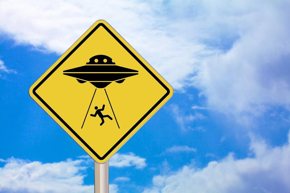Almost two-thirds of Americans believe in intelligent life on other planets, once considered a fringe conspiracy theory (Getty/iStock)