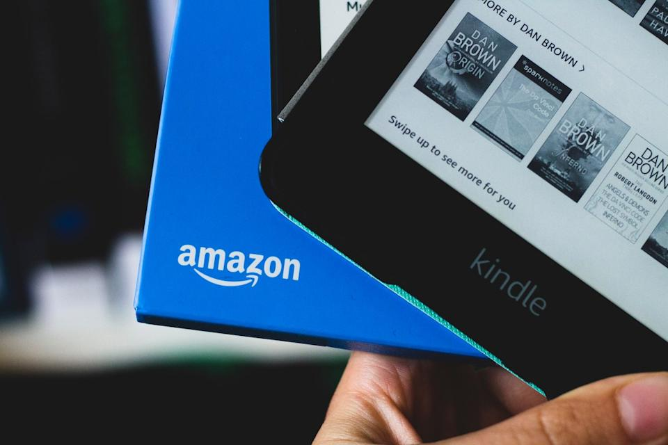 Kindle Paperwhite from Amazon in unopened package and opened