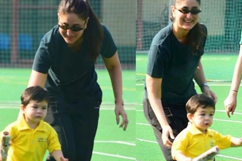 In Pics: Proud Mommy Kareena Cheers On As Taimur Wins First Medal at His School's Sports Day
