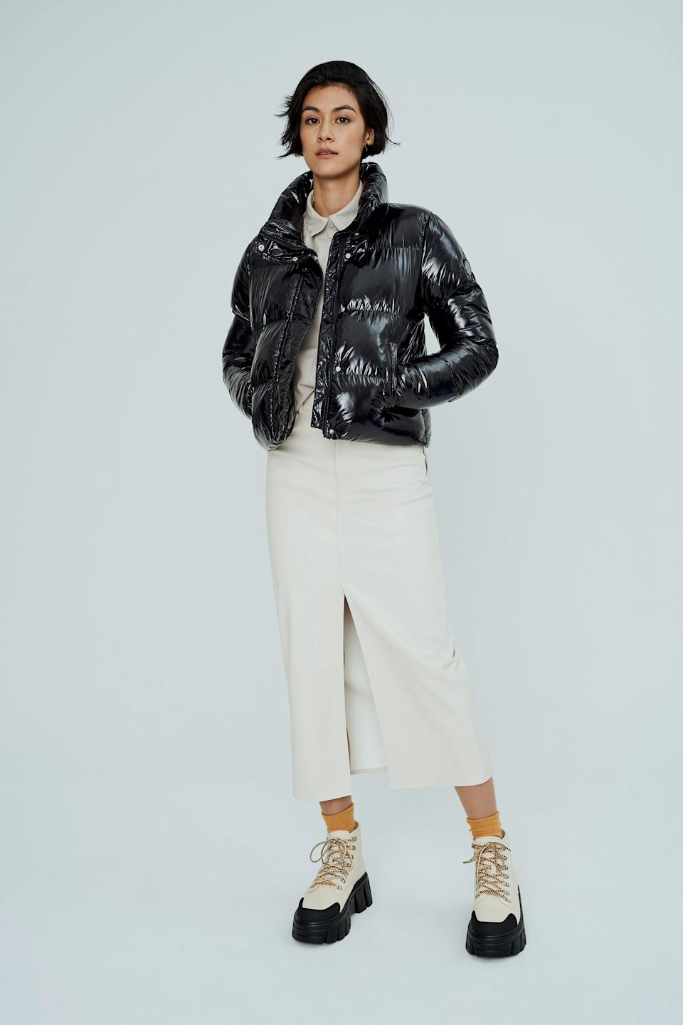 COCO Cropped Puffer