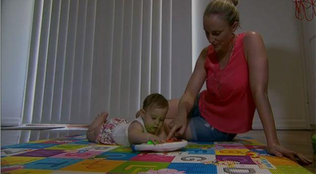 Baby Stella has since recovered from the virus. Photo: 7 News