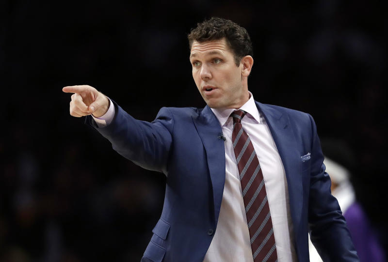 Lakers coach Luke Walton got fined for criticizing the refs. More