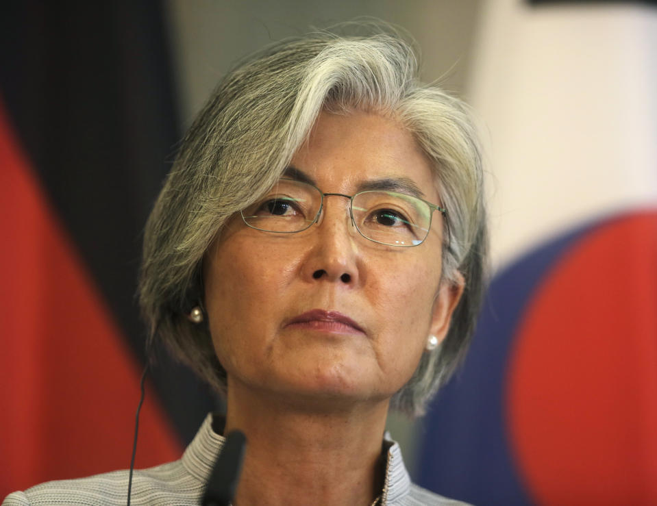 South Korean Foreign Minister Kang Kyung-wha。Getty Images