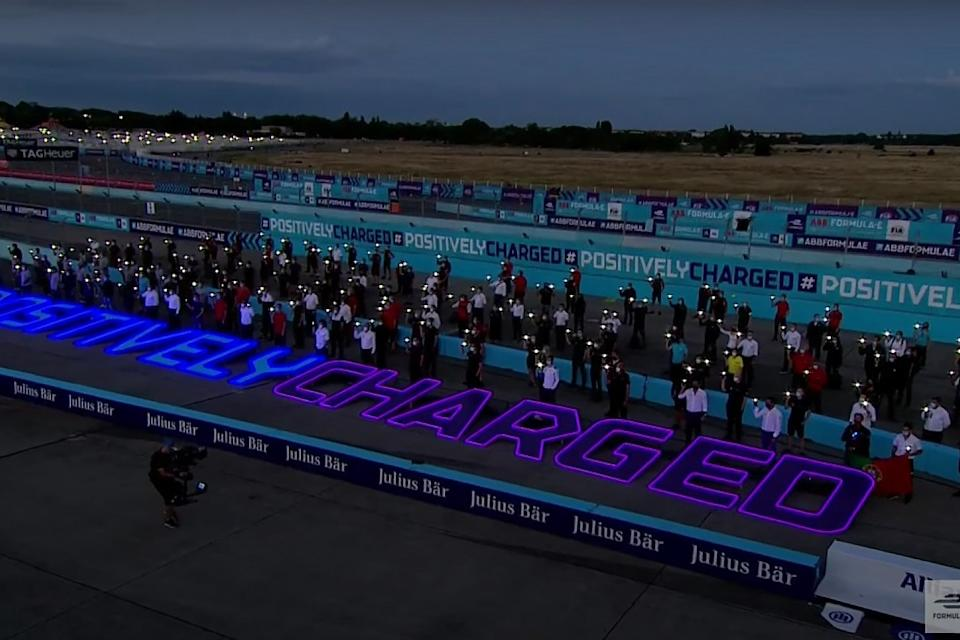 Formula E holds minute's silence in Berlin
