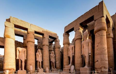<span>Head for a winter sojourn to Egypt and catch historical sights such as Luxor Temple</span> <span>Credit: Getty </span>
