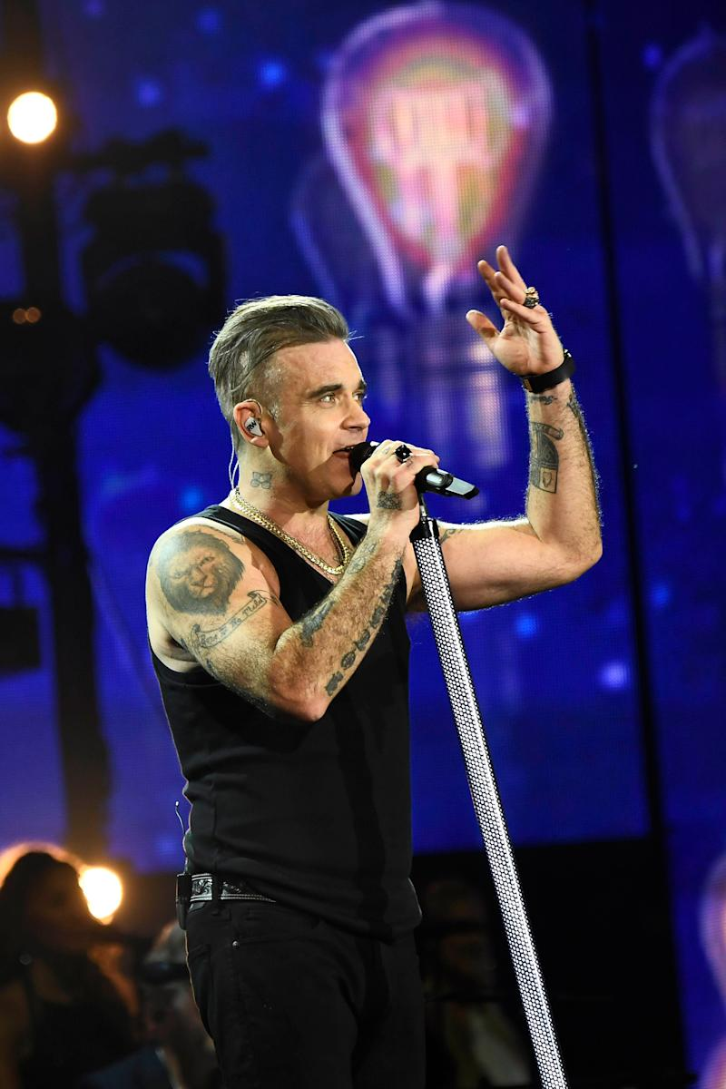 It's been well-documented that Robbie Williams' mammoth UK success has not translated overseas, and despite having the most Brit Awards of any singers in history, he's never managed to win a Grammy.<br /><br />Interestingly, he has been nominated for two in the past, but neither were actually for his music.<br /><br />His first nomination was for the music video for 1 Giant Leap's My Culture, on which he was a featured artist, while his second was in the Best Music Film category for his live show at the Royal Albert Hall.