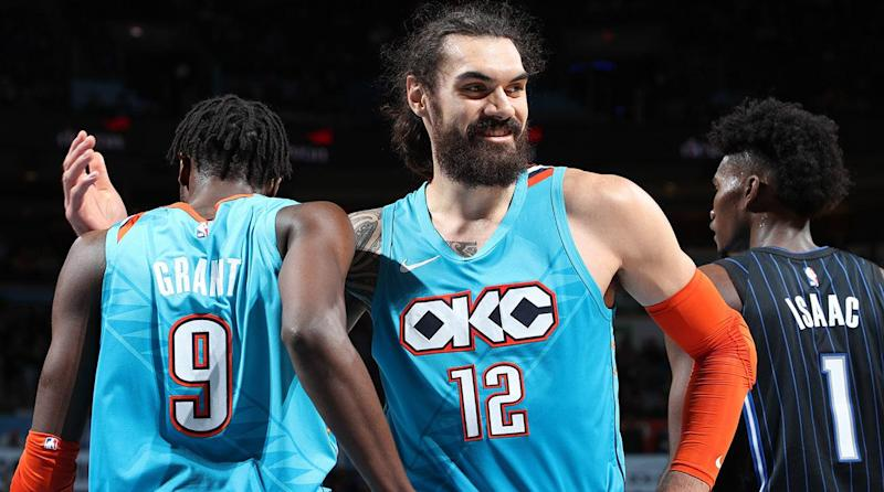cheap for discount 6a109 fdcca Steven Adams is Much More Than the NBA's Strongest Man