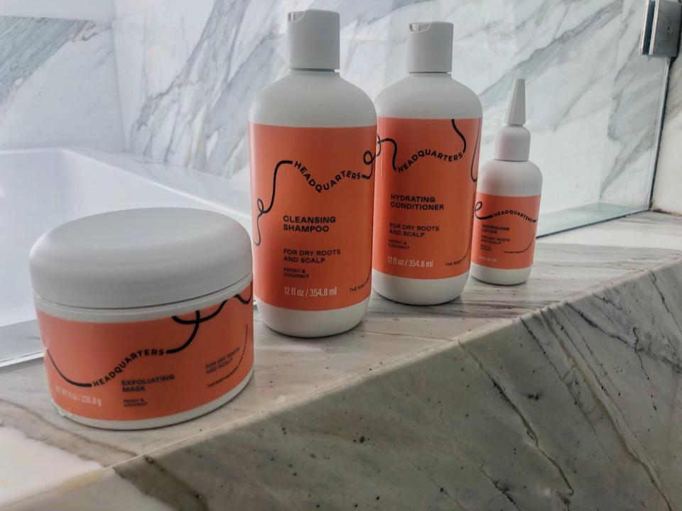 <p>This <span>Headquarters Hydration Hero Set</span> ($24, originally $30) is exactly what I've been using to get healthy, shiny hair.</p>