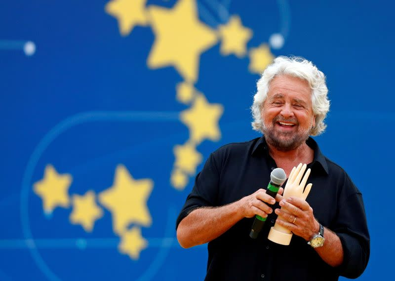FILE PHOTO: Italy's 5-Star Movement rally in Rome