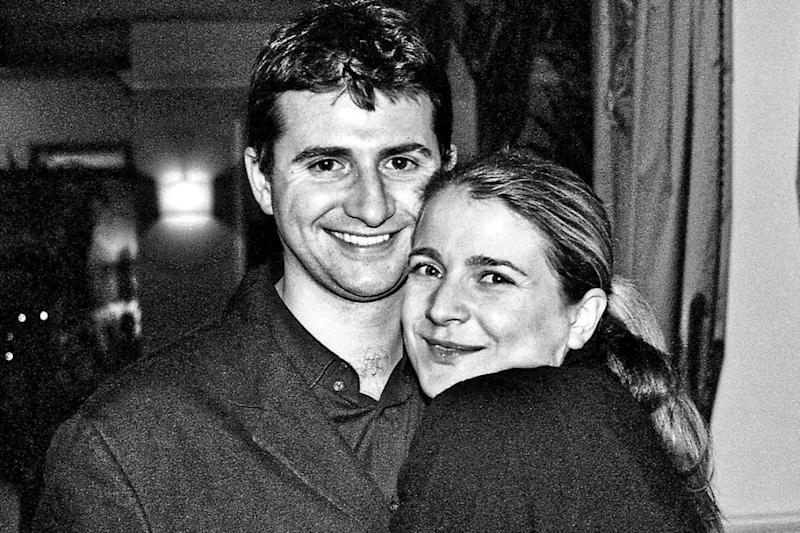 Murdered: Tom ap Rhys Pryce, pictured with fiancée Adele Eastman, was attacked at the unmanned Kensal Green station in 2006