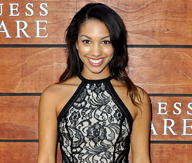 Corinne Foxx is a former Miss Golden Globe. (Photo: Allen Berezovsky/Getty Images for Fashion Media)