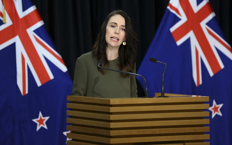 Prime Minister Jacinda Ardern announced that New Zealand's General Election will be delayed until 17 October - Getty