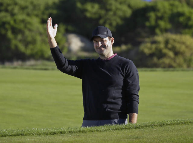 Tony Romo is a master commentator and ultimate referee oversight committee. (AP Photo/Eric Risberg, File)