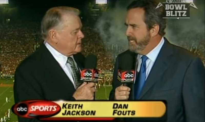 Legendary broadcaster Keith Jackson dies at 89