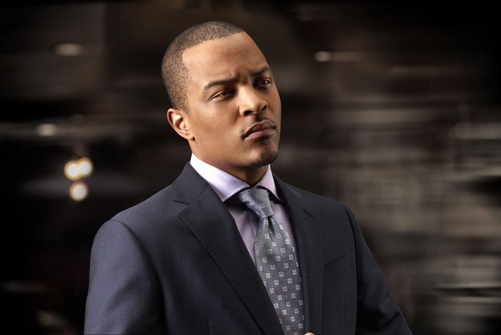 "Tip Harris as Trey Rogers in season 2 of ""Boss."""