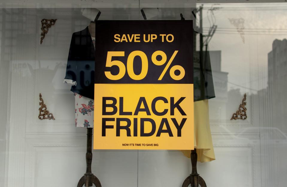 Black Friday sale begins on 27 November. Photo: Ashkan Forouzani/Unsplash