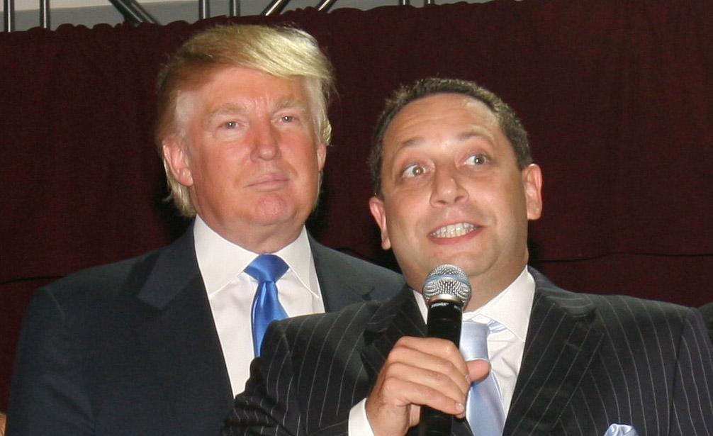 Donald Trump and Felix Sater at a 2007 Trump hotel launch party in New York City. (Photo: Will Ragozzino/Patrick McMullan via Getty Images)