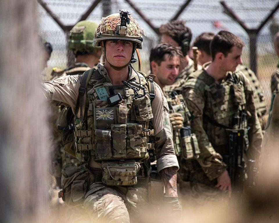 UK armed forces minister James Heappey said on Sunday that eight RAF flights had left Kabul in the last 24 hours, carrying 1,721 people to safety (LPhot Ben Shread/MoD/Crown Copyright/PA) (PA Media)