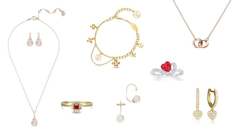 7ed39616d Diamond, pearls and gold: Shop the Valentine's Day jewelry she really wants  — starting at just $38