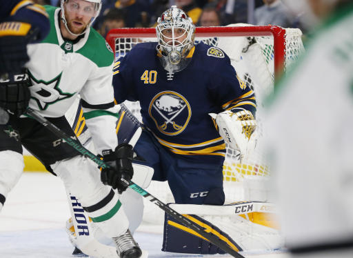 Sabres rookie Olofsson sets National Hockey League power-play goal record