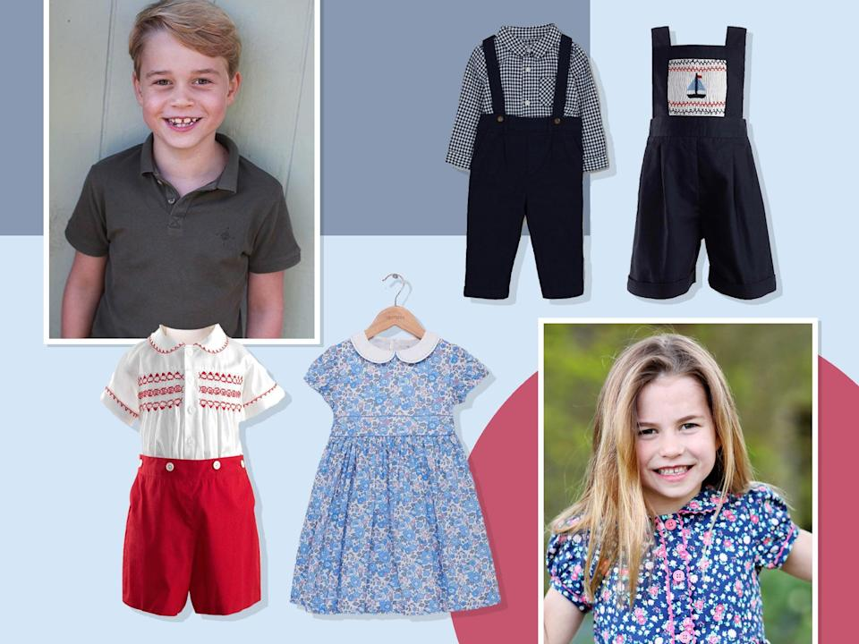<p>From Prince George to baby August, the royal family is full of mini fashion influencers</p> (The Independent)