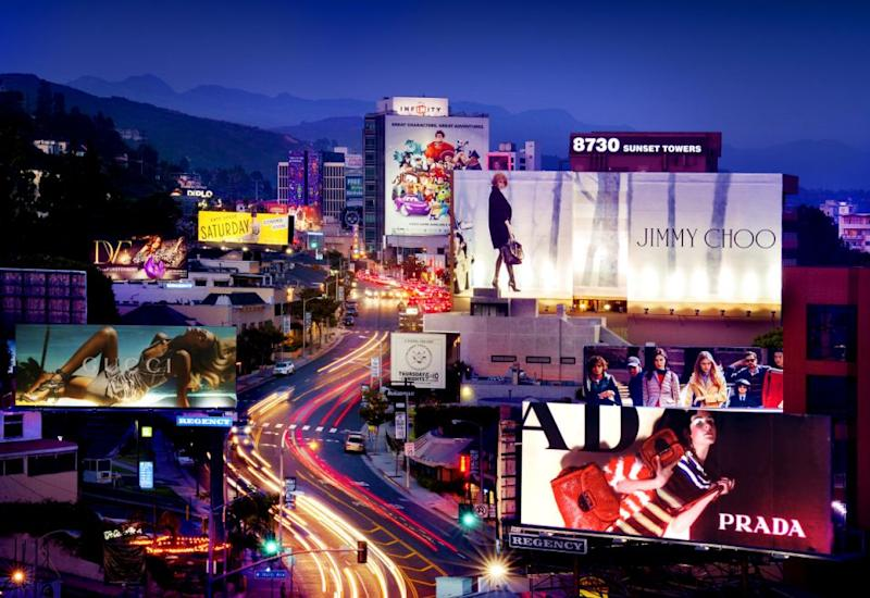 The famous Sunset Strip. Photo: Supplied