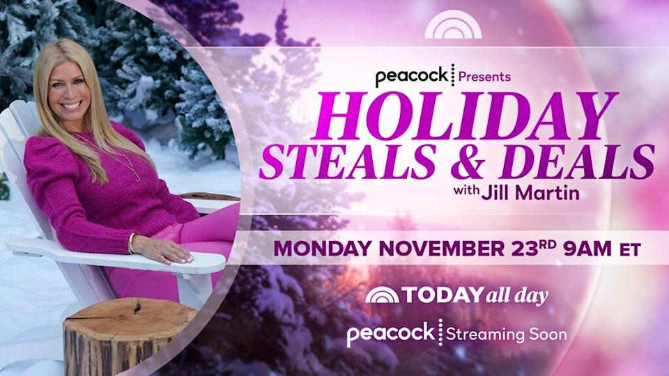 E-Comm: Jill's Holiday Deals and Steals