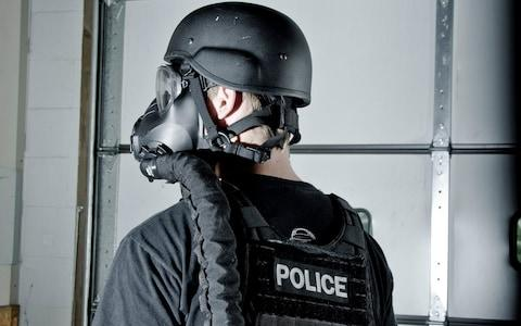 <span>Avon Rubber supplies tactical equipment to police and military forces</span> <span>Credit: Christopher Jones </span>