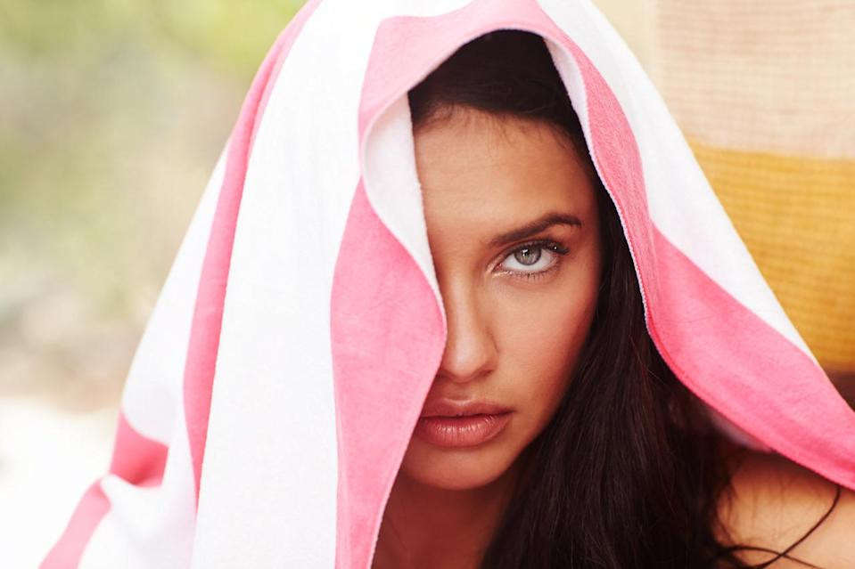 """""""Nature is definitel something that calms me down and it's where I recharge,"""" Adriana Lima said."""