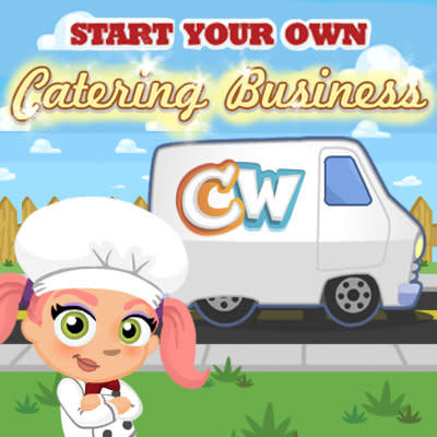 Cafe World Catering Logo