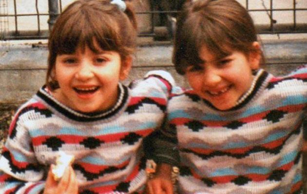 The girls were adorable as children. Source: Supplied
