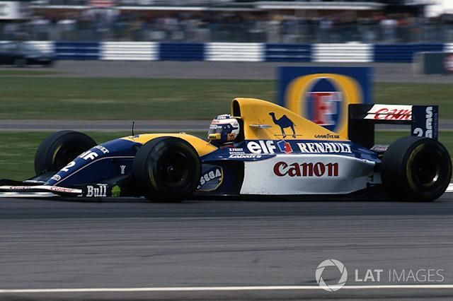 "1993: Williams-Renault FW15C <span class=""copyright"">Sutton Motorsport Images</span>"