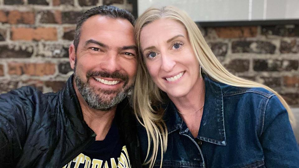 Carl Deriso and Sarah Kirwan both have multiple sclerosis and say that dating wasn't easy — until they found each other. (Photo: Sarah Kirwan)